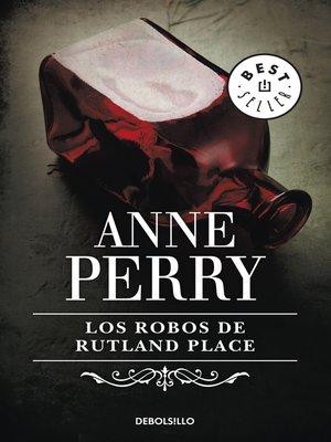 cover image of Los robos de Rutland Place