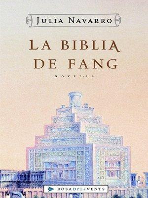 cover image of La Bíblia de fang