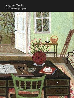 cover image of Un cuarto propio (edición ilustrada)