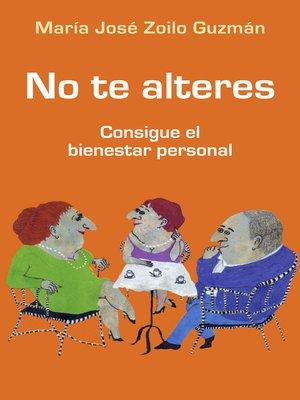 cover image of No te alteres