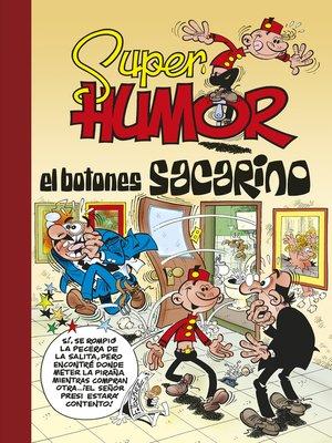 cover image of El Botones Sacarino (Súper Humor Mortadelo 45)