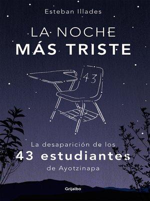 cover image of La noche más triste