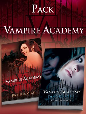 cover image of Pack Vampire Academy (contiene