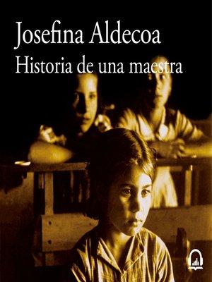 cover image of Historia de una maestra
