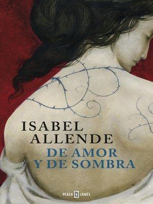 cover image of De amor y de sombra