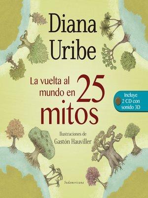 cover image of La vuelta al mundo en 25 mitos