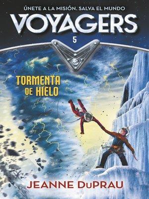 cover image of Tormenta de hielo