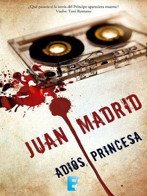 cover image of Adiós, princesa (Serie de Toni Romano 7)