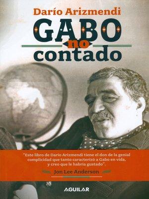cover image of Gabo no contado