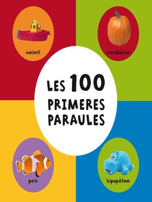 cover image of Les 100 primeres paraules