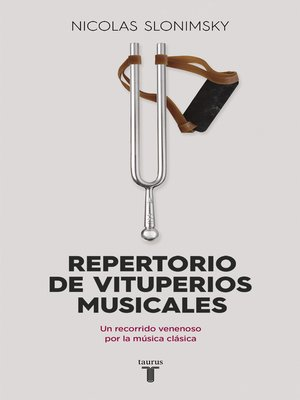 cover image of Repertorio de vituperios musicales