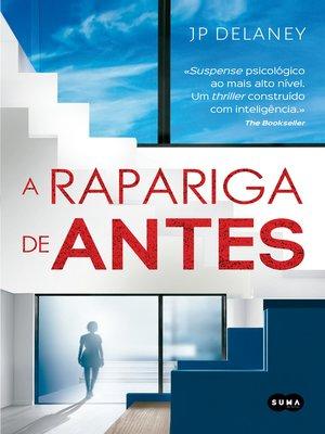 cover image of A rapariga de antes