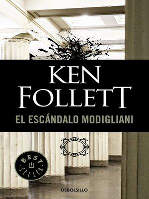 cover image of El escándalo Modigliani