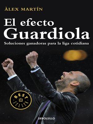 cover image of El efecto Guardiola