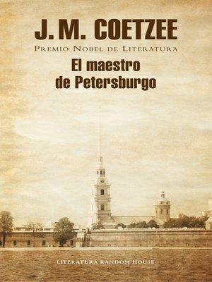 cover image of El maestro de Petersburgo