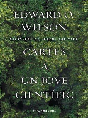 cover image of Cartes a un jove científic