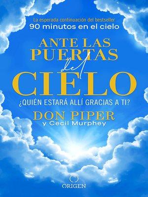 cover image of Ante las puertas del cielo