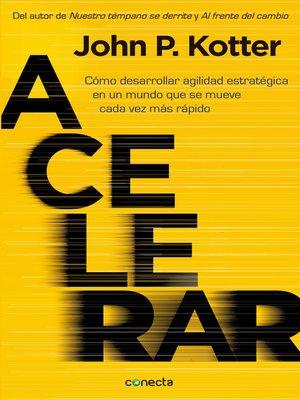 cover image of Acelerar