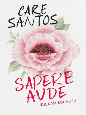 cover image of Sapere Aude (Trilogía Eblus 3)