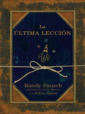cover image of La última lección