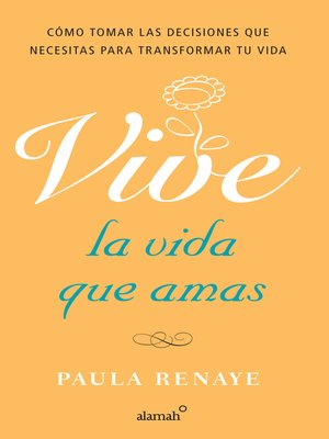 cover image of Vive la vida que amas