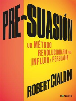 cover image of Pre-suasión