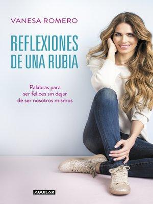 cover image of Reflexiones de una rubia