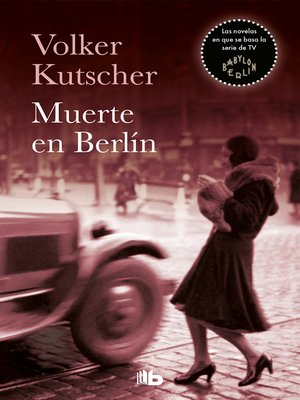 cover image of Muerte en Berlín (Detective Gereon Rath 2)