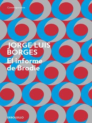 cover image of El informe de Brodie