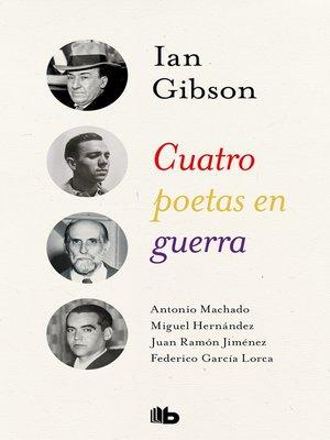 cover image of Cuatro poetas en guerra