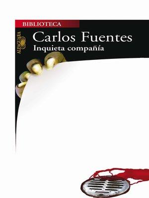 cover image of Inquieta compañía