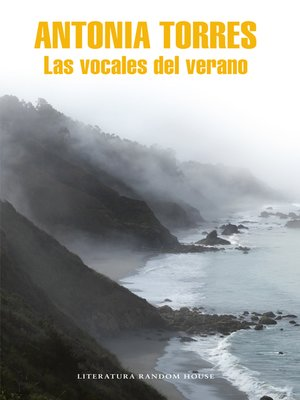 cover image of Las vocales del verano