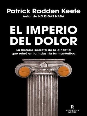 cover image of El imperio del dolor