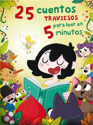 cover image of 25 cuentos traviesos para leer en 5 minutos