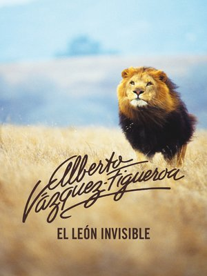 cover image of El león invisible