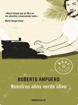 cover image of Nuestros años verde olivo