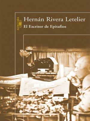 cover image of El Escritor de Epitafios