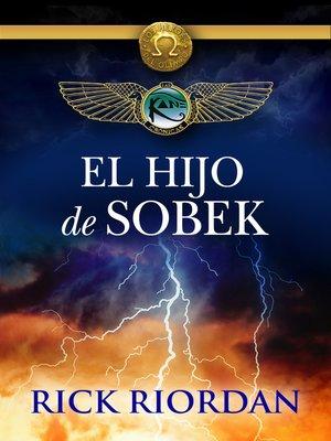 cover image of El hijo de Sobek (e-original)