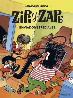 cover image of Zipi y Zape. Enviados especiales