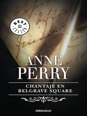 cover image of Chantaje en Belgrave Square