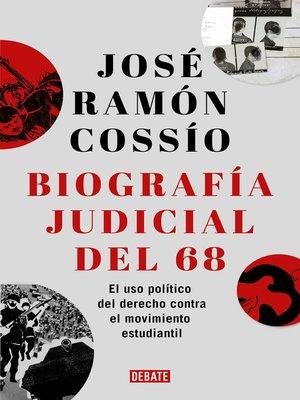 cover image of Biografía judicial del 68