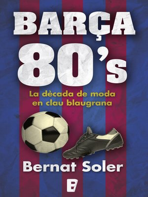 cover image of Barça 80's