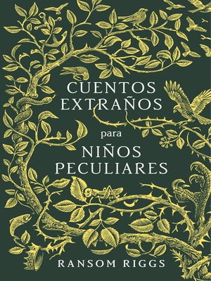 cover image of Cuentos extraños para niños peculiares
