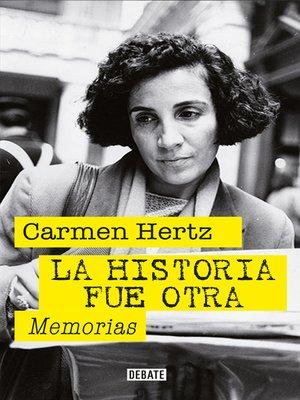 cover image of La historia fue otra