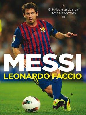 cover image of Messi (edició en català)