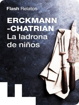 cover image of La ladrona de niños