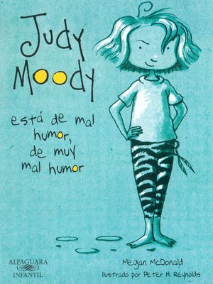 cover image of Judy Moody está de mal humor, de muy mal humor (Colección Judy Moody 1)