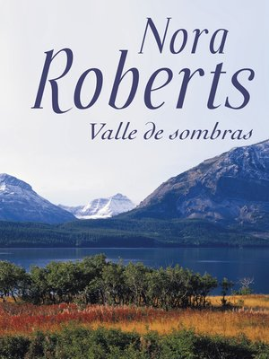 cover image of Valle de sombras