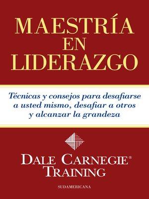 cover image of Maestría en liderazgo