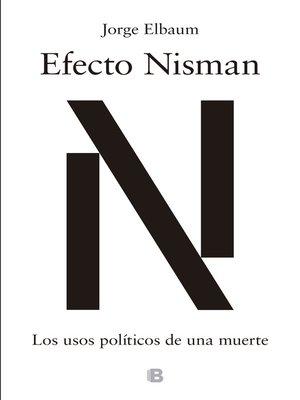 cover image of Efecto Nisman